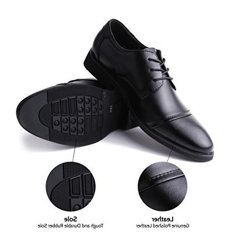 Marino Dress for Men Leather Black - - 8