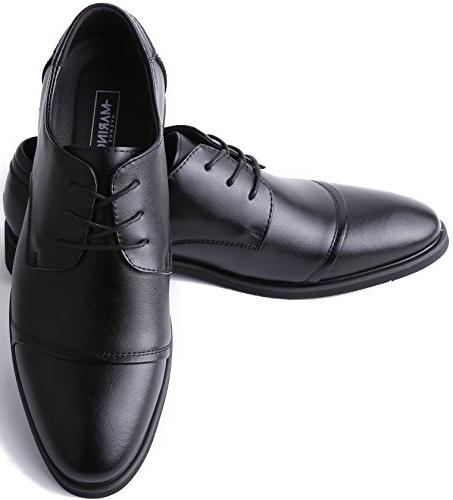 Marino for - Leather Mens Black - - 8 D US