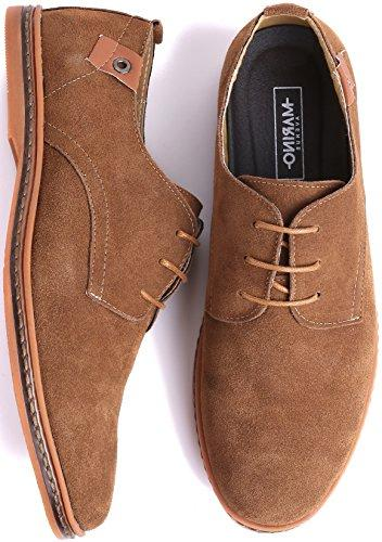 Marino Suede Oxford Shoes for Business Shoes Light US
