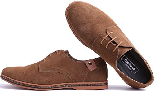 Marino Suede Shoes for Business Casual - Light US