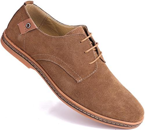 marino suede oxford dress shoes for men