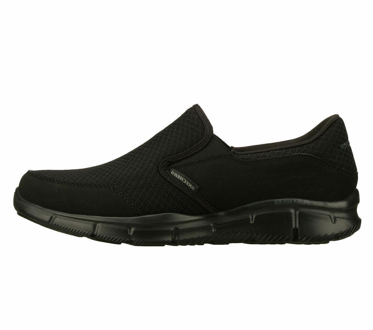 Memory Black Shoes 51361 Slip Loafer