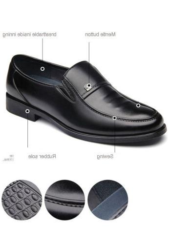 Mens Business Dress Slip Driving Oxford Moccasin