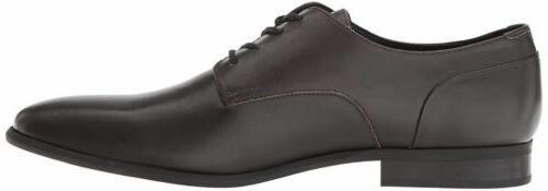 Men Dress Shoes Calvin Klein Lucca Dark Brown F1491