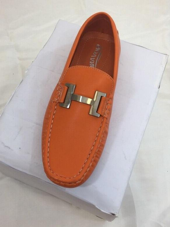 MEN SHOES Loafer Italian Solid