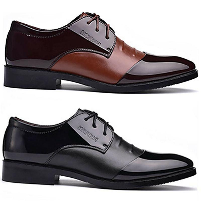 Leather Dress Tuxedo Formal Work Shoes Cap Toe