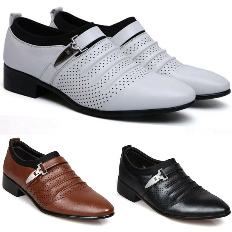 Men Oxfords Pointed Toe Shoes Wedding Business On