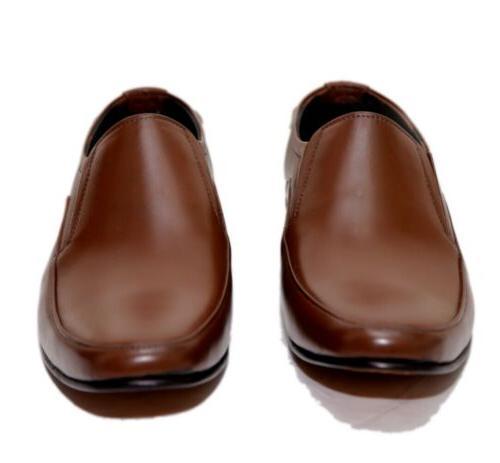 MEN LEATHER HANDMADE COMFORTABLE DRESS SHOES