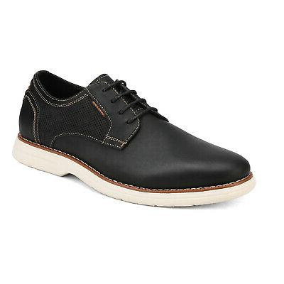 Bruno Mens Leather Up Casual Oxford Shoes