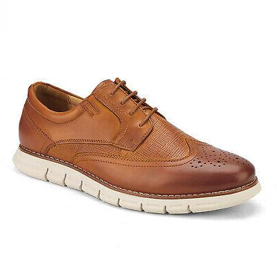 Bruno Leather Casual Lace Shoes