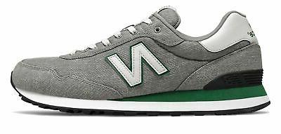 men s 515 shoes grey with green