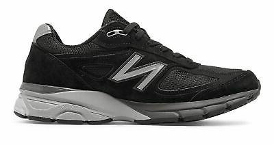 New Balance 990V4 Made In Us Black Silver