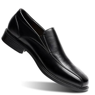 men s black slip on loafer classic