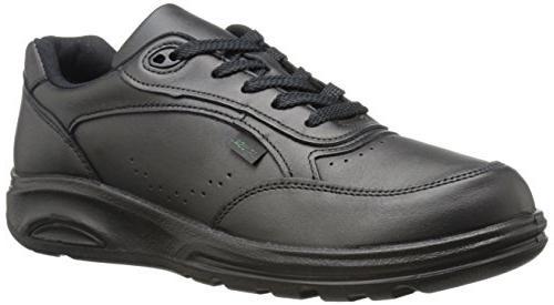 men s black walking shoe 10 5