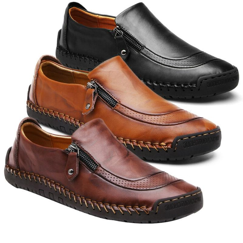 Men Oxfords Formal Shoes Loafers Casual Size