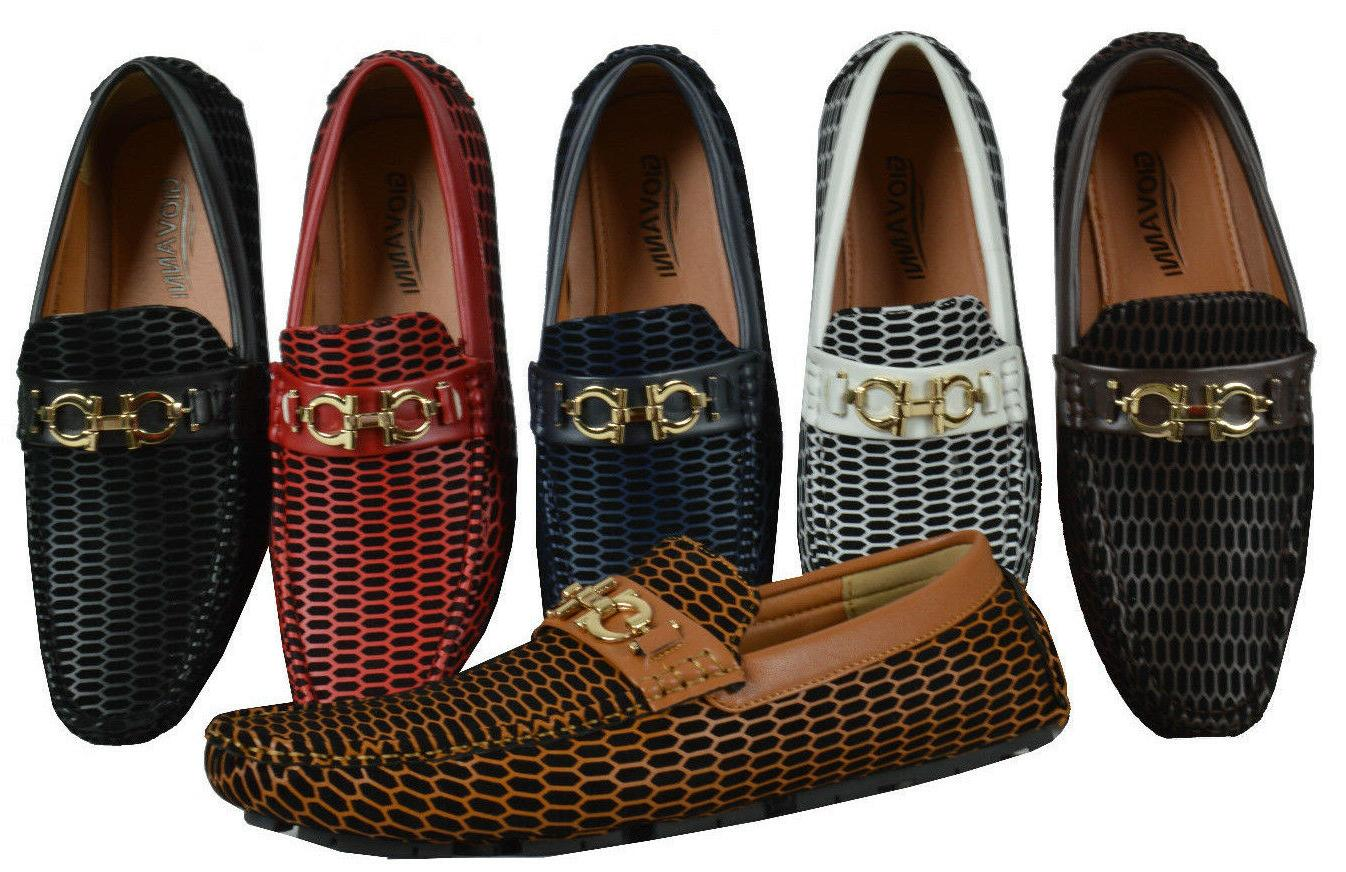 men s casual shoes driving moccasin prom