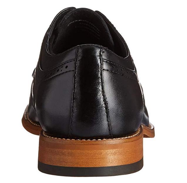 Stacy Adams Dickinson Cap-Toe Black, Size 9.5M
