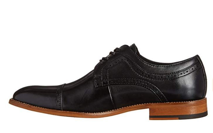 Stacy Adams Dickinson Cap-Toe Lace-up Oxford