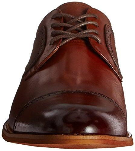 STACY Cap Oxford, Cognac, 12
