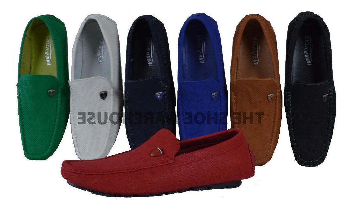 Men's Giovanni Dress Shoe Slip-On Loafer Moccasin Formal Cas