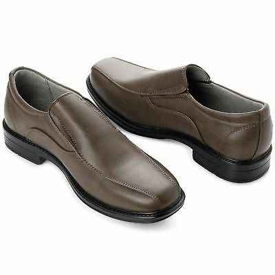 Alpine Swiss Dress Shoes Leather Lined Slip On Suit Jeans