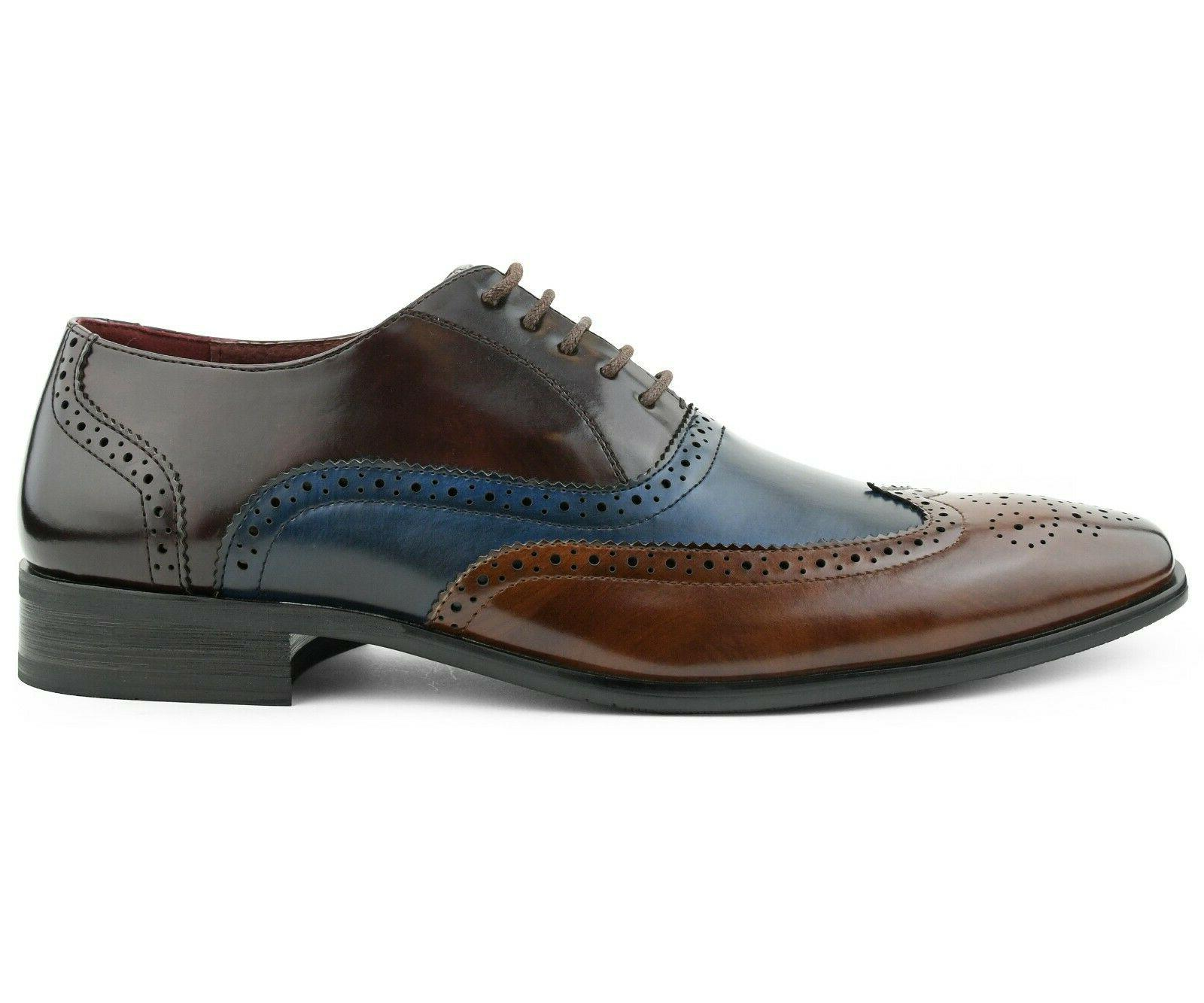 Men's Shoes - Manmade Leather Lace Up Shoes
