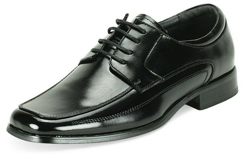 Men's Dress Shoes Square Toe Oxford Lace Up