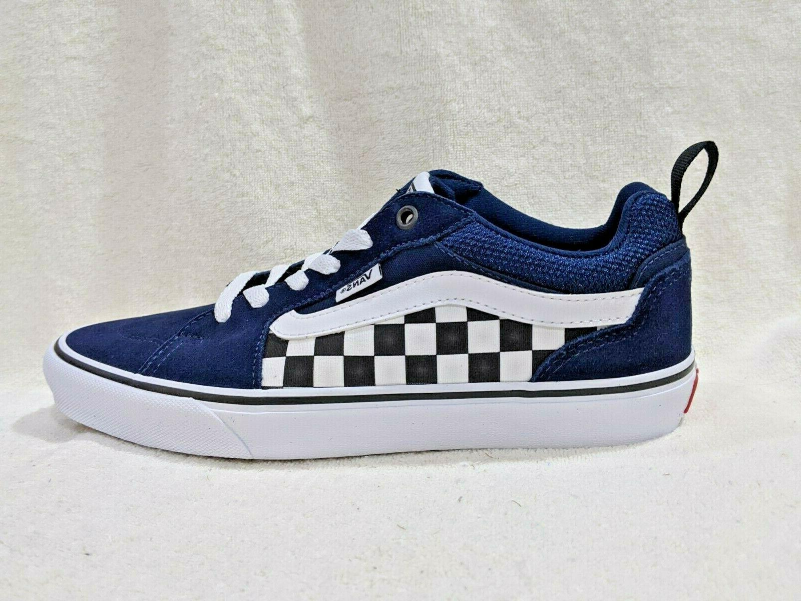 Vans Men's Filmore Dress Blue/White Sizes