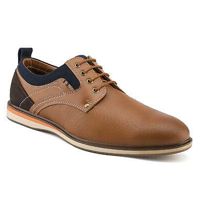 Bruno Marc Mens Leather Lined Casual Up Formal Oxford Shoes