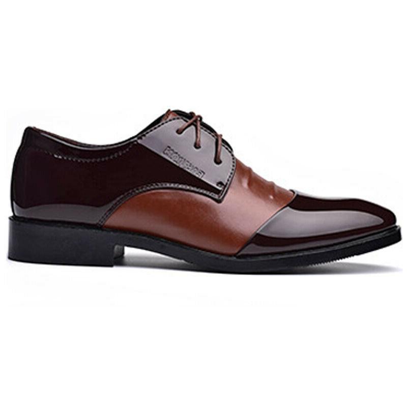 Men's Leather Formal Work Toe