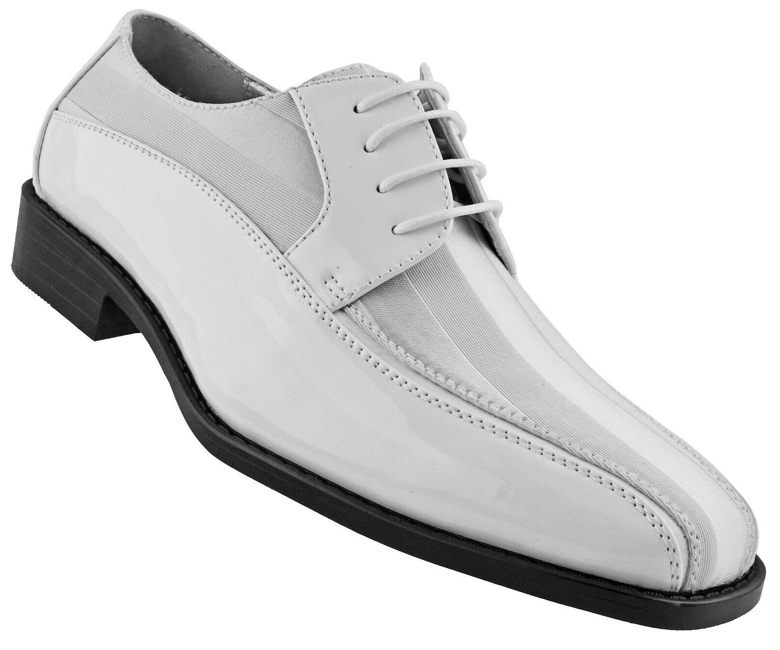 Amali Satin Striped Formal Wedding Lace Up Oxford Dress Shoe