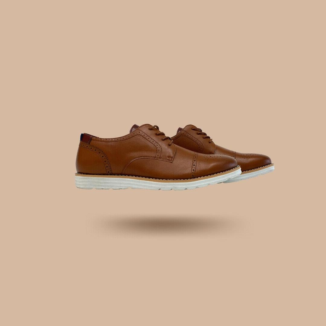 men s leather casual work dress shoes