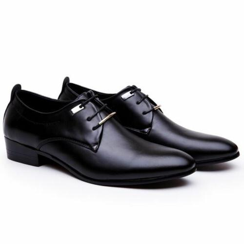 men s leather shoes formal pointed toe