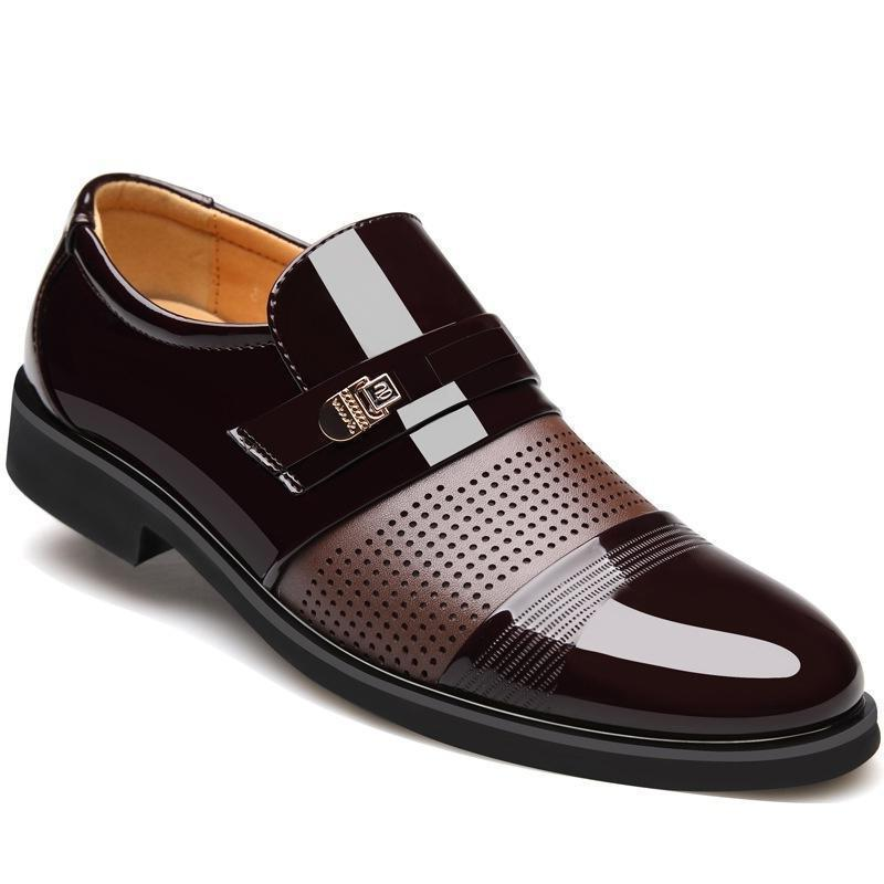 Men's Business Wedding Formal Dress Casual Shoes Slip on