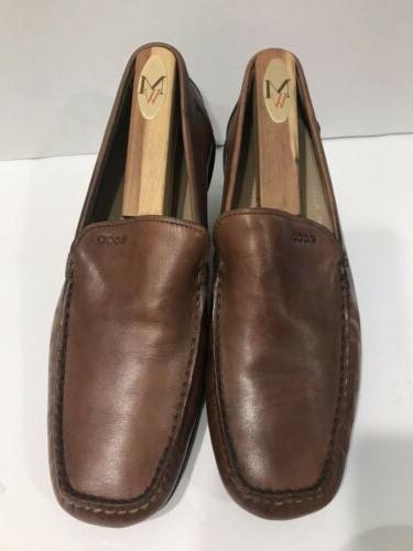 ECCO Men's Leather Loafer Dress EU US