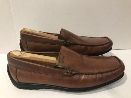 men s leather slip ons loafer dress