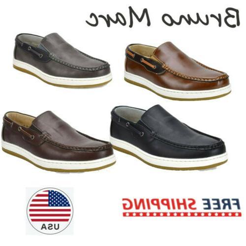 men s moccasins boat shoes lightweight slip