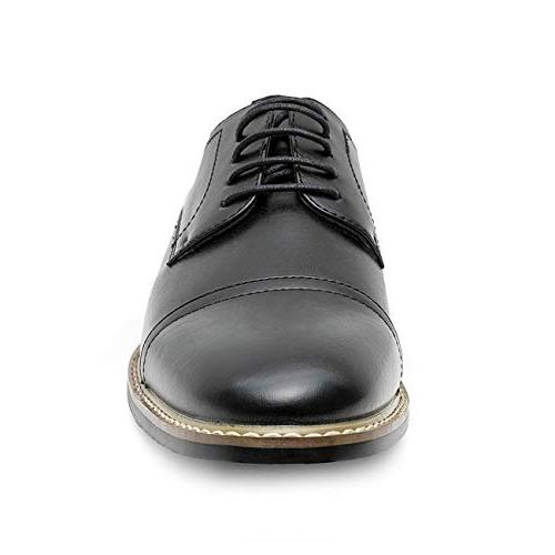 Men's Oxford Classic Toe Lace up Leather Lined Formal for