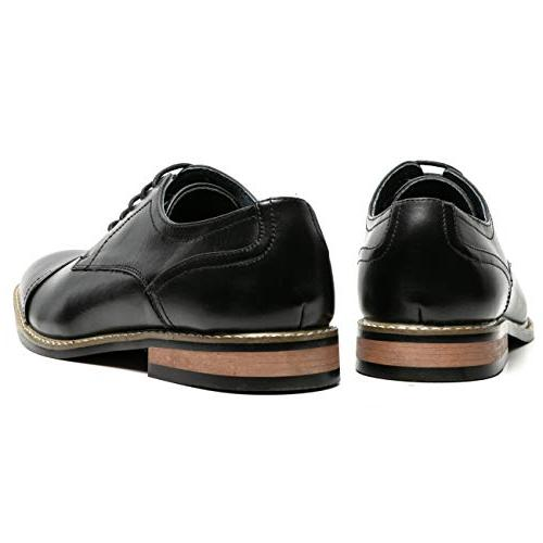 Men's Oxford Toe Lace up Leather Lined Formal