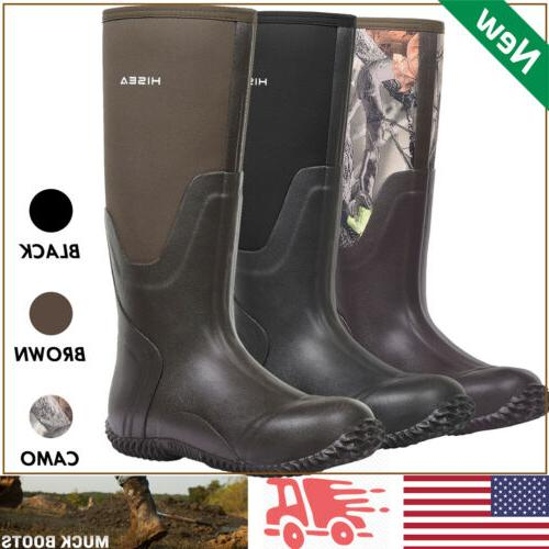 men s rubber neoprene boots insulated breathable