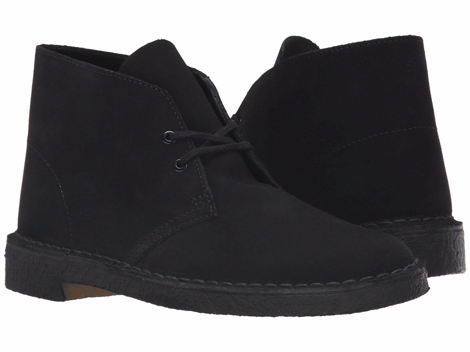 men s shoes desert boot 07882 black