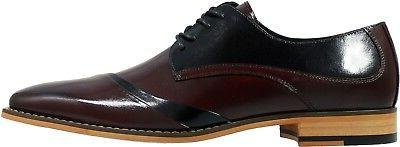 Stacy Folded Oxford - Burgundy