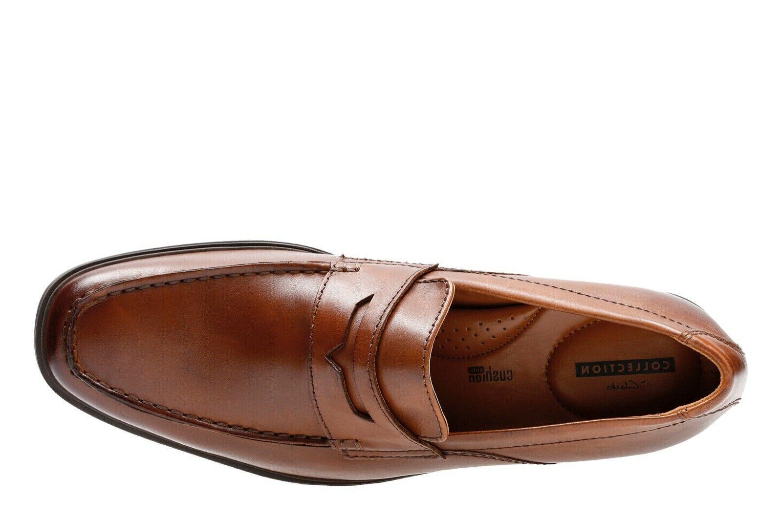 Clarks Men's Tan Leather 26131576