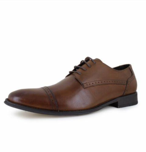 MEN'S Asher Green Ungar Size 10.5 Dress Shoes genuine leathe