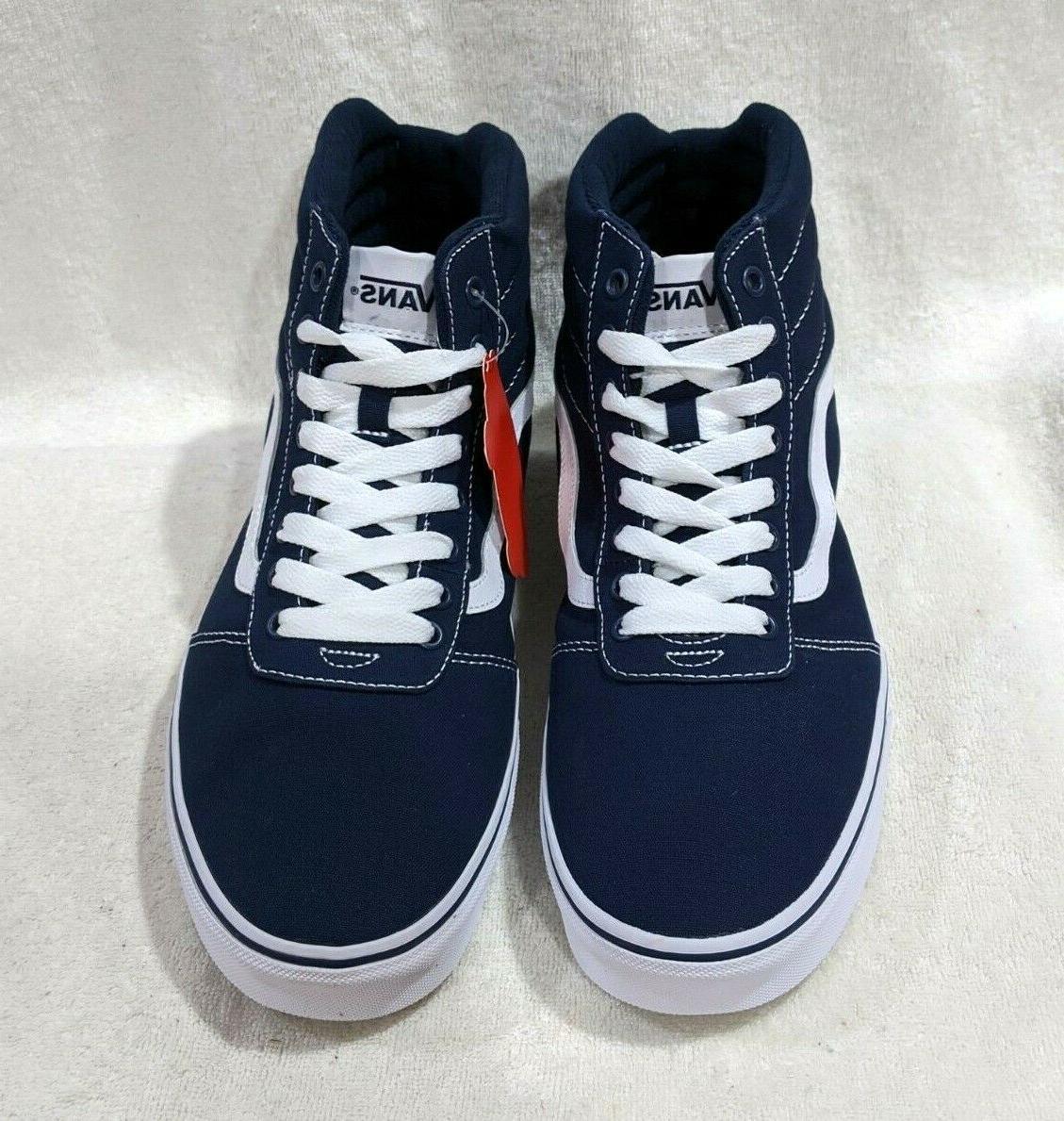 Vans Dress Blue/White Skate 9.5/12/13 NWB