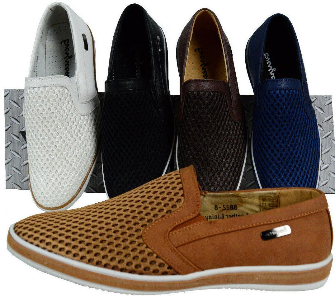 men slip on shoes loafers dress causal