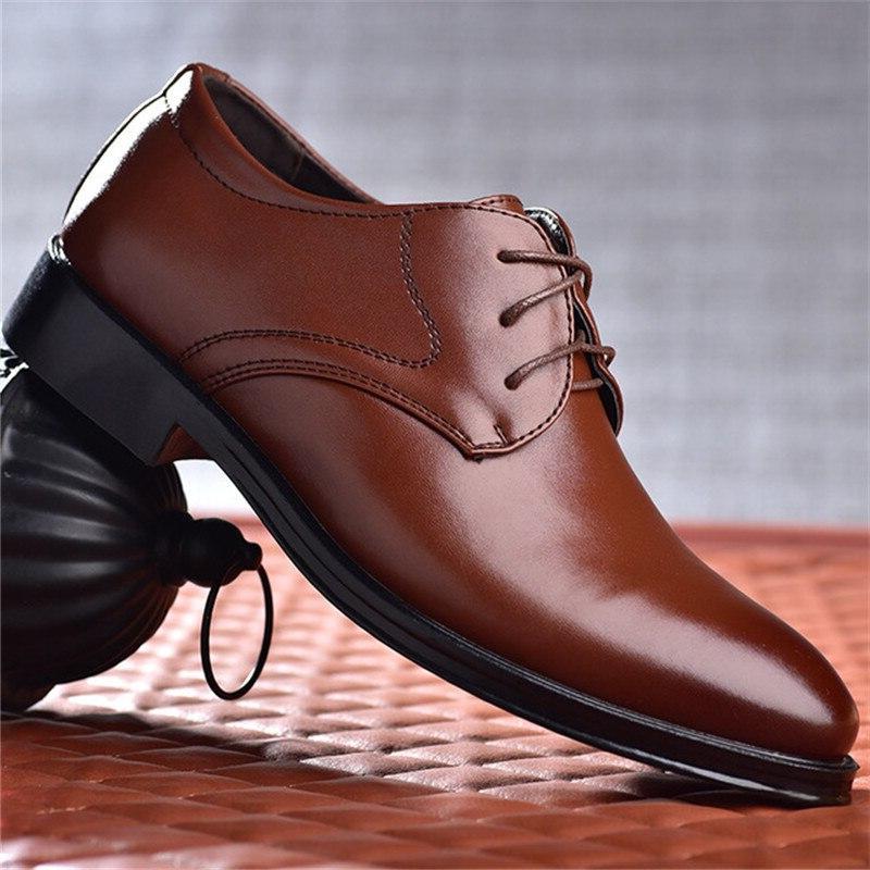 men wedding <font><b>shoes</b></font> formal pointed for man <font><b>dress</b></font> men's oxford Size Round Toe <font><b>Shoes</b></font>