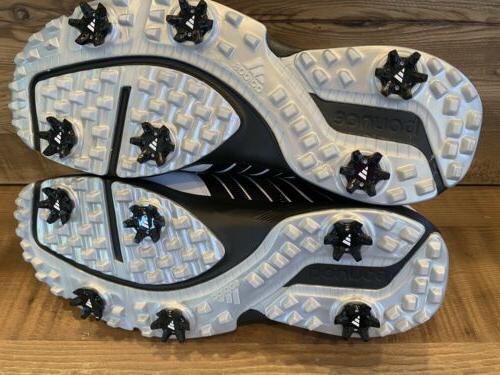 adidas Golf Shoes, US, White/black
