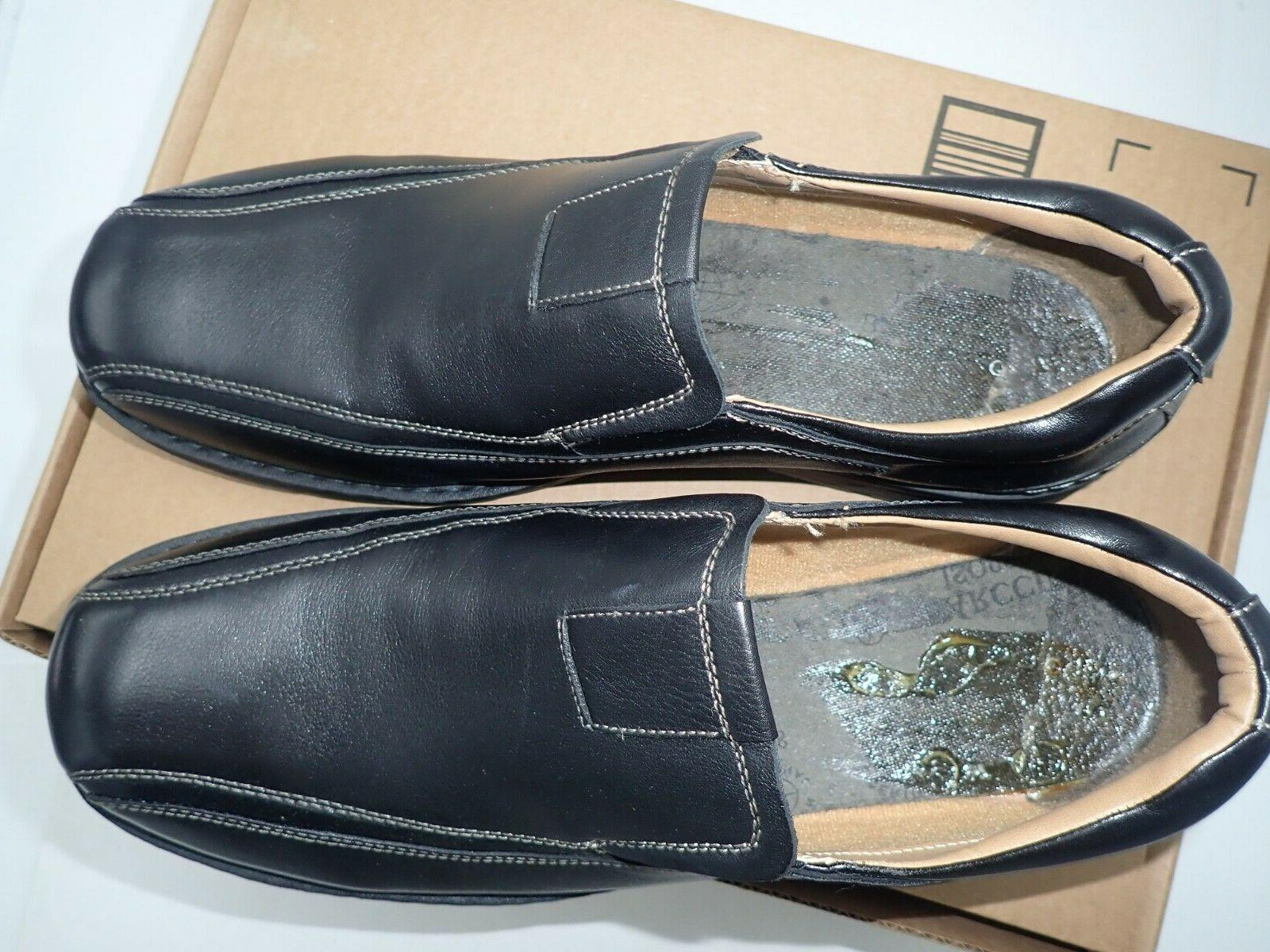 Dockers Agent Leather Dress Loafer Black, 14 W