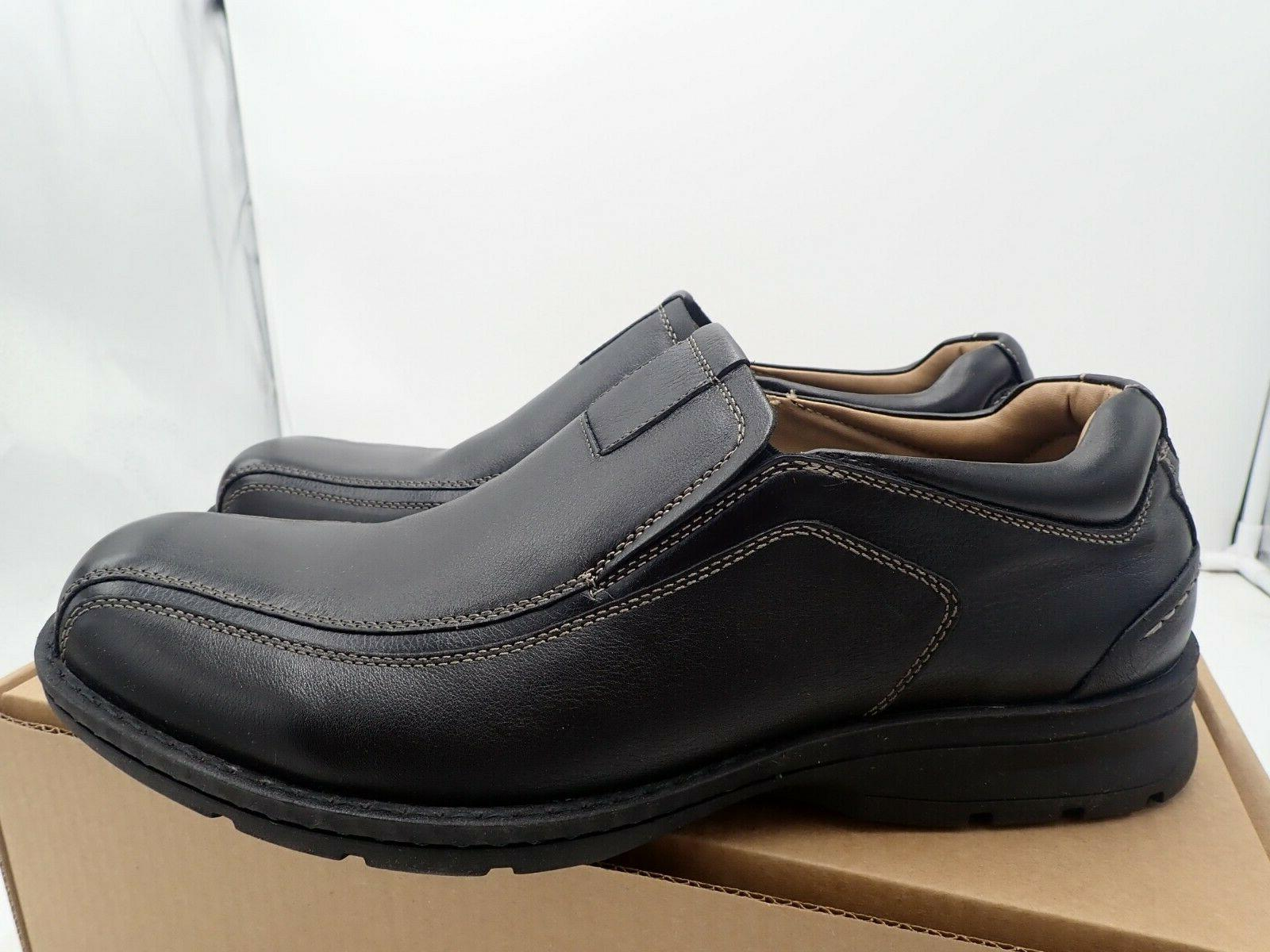 mens agent leather dress casual loafer shoe